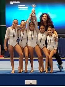 Regionali di ginnastica, successo per il C.A.G. Penisola Sorrentina