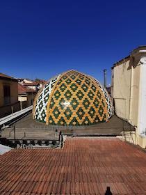 Ultimata la cupola, si avvia a conclusione il restauro del Sedil Dominova di Sorrento
