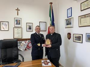 Il Cappellano Militare in visita alla Capitaneria di Castellammare