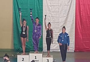 Le ginnaste di Sorrento ancora in evidenza ai regionali