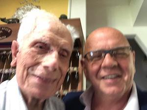 Il decano degli albergatori di Sorrento compie 100 anni, festa nel suo hotel