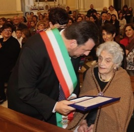 Festa a Vico Equense per i 100 anni di Olimpia Esposito