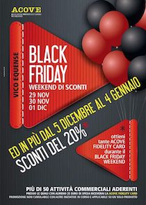 Vico Equense si prepara al Black Friday