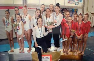 Le ginnaste del Cag Penisola Sorrentina sfiorano la promozione