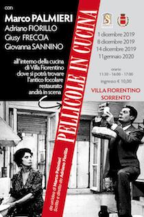 A Villa Fiorentino va in scena Pellicole in Cucina