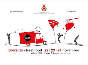 Nel weekend a Sorrento torna lo Street Food Village