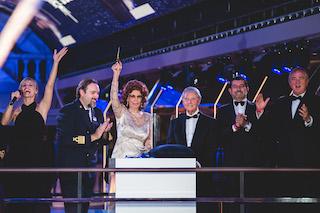 Sophia Loren battezza la Msc Grandiosa