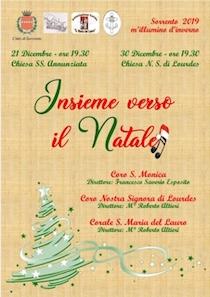 Insieme verso il Natale, due concerti a Sorrento
