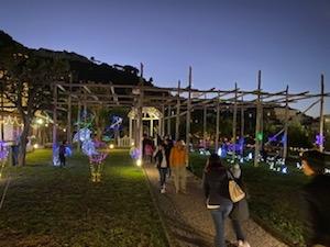 Sorrento. Ultimo weekend con le attrazioni natalizie di Villa Fiorentino