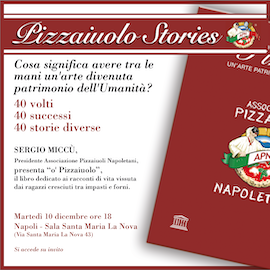 Le storie di 40 pizzaiuoli napoletani nel libro di Miccù
