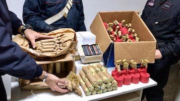 Botti illegali. Bilancio dei carabinieri: Il primo sequestro a Vico Equense