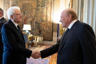 Iaccarino di Federalberghi Penisola Sorrentina dal presidente Mattarella