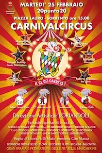 A Sorrento arriva il Carnivalcircus