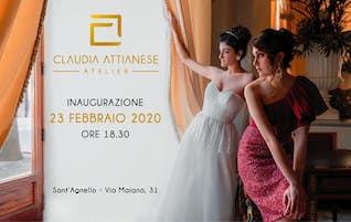 Claudia Attianese inaugura il suo atelier a Sant'Agnello