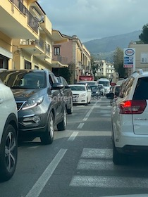 Caos traffico in costiera sorrentina. Nulla di fatto in Regione