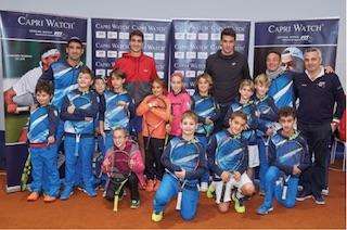 Grande attenzione di Capri Watch per le promesse del tennis italiano