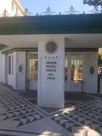 Un'ala dell'hotel Parco del Sole di Sant'Agnello per l'isolamento dei marittimi