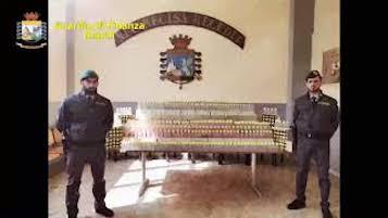 Igienizzante non a norma sequestrato dalla Finanza tra le province di Napoli e Salerno – video –