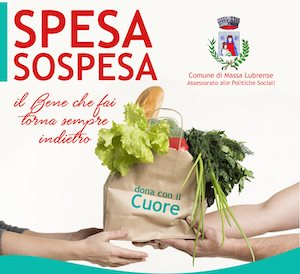 Anche a Massa Lubrense solidarietà con la Spesa Sospesa
