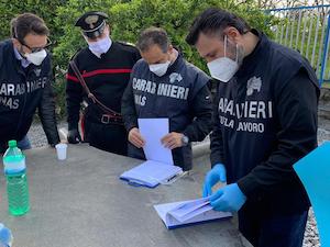 Controlli dei Carabinieri nelle aziende, denunciato imprenditore della costiera sorrentina
