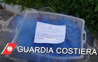 Da datterari in costiera sorrentina a pescatori di frodo a Castellammare, sanzionati