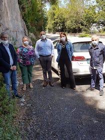 Sopralluogo per rifare l'asfalto della provinciale Sorrento-Massa Lubrense