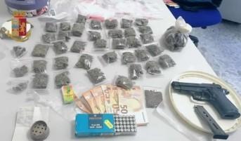 Spaccio di droga, arrestato 40enne a Massa Lubrense