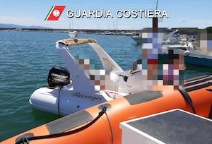 Barca in avaria rischia collisione, soccorsa dalla Capitaneria stabiese