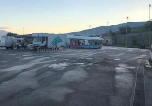 Regolarmente aperto il mercato a Sorrento
