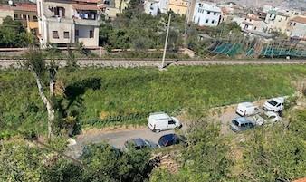 Alberi tagliati per realizzare un parcheggio a Sant'Agnello, scatta il sequestro