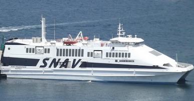 Riprendono i collegamenti Snav tra Castellammare, Sorrento e Capri