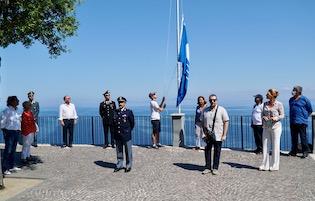 A Sorrento la cerimonia ufficiale per la Bandiera Blu 2020
