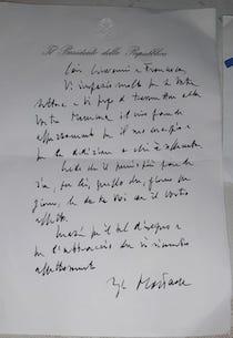 Due bambini di Vico Equense scrivono a Mattarella. La risposta del Presidente