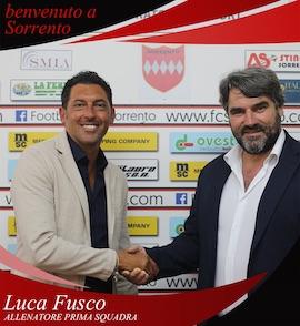 Luca Fusco è il nuovo allenatore del Sorrento