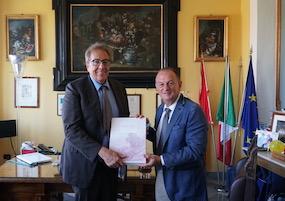 Il prefetto Valentini a Sorrento, impegno contro la criminalità ed il traffico