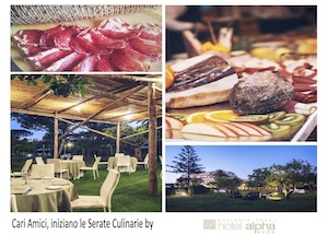 Al via le Serate Culinarie by Alpha Restaurant & Garden Lounge
