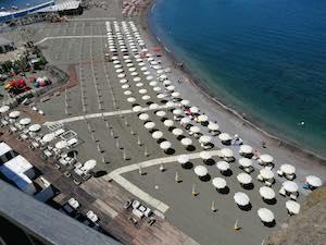 Piano spiagge per l'estate 2021 con distanze e prenotazioni