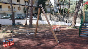 Una nuova area giochi per bambini nel centro di Sorrento
