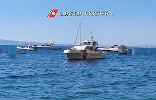 Barca affonda nel Parco di Punta Campanella, salve 7 persone