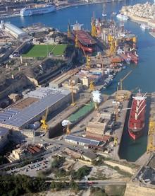 Msc e Palumbo insieme per gestire il cantiere di Malta