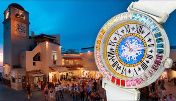 Diffuso in tutto il mondo il nuovo spot di Capri Watch per il Natale – video –