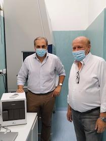 Federalberghi e Fondazione Sorrento donano all'ospedale apparecchio per i test veloci Covid