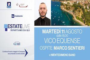 Vico Equense protagonista di Rai Radio 2 Estate Live