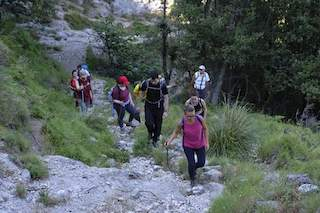 Al via le escursioni lungo il Sentiero delle Formichelle in costiera amalfitana