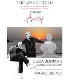 A Sorrento il concerto di Luca Jurman