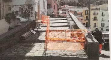 Maltempo, chiuse in parte le rampe di Marina Grande a Sorrento