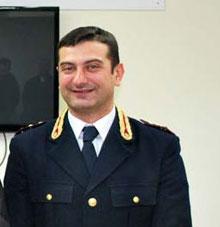 Il vice questore Donadio alla guida del commissariato di Sorrento