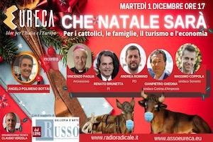 Il sindaco di Sorrento al forum online sul Natale ai tempi del Covid