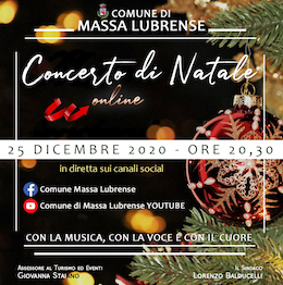 Concerto di Natale in streaming da Massa Lubrense