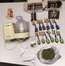 Botti illegali e droga, arrestato a Massa Lubrense – foto –